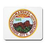 Colorado City Marshal Mousepad