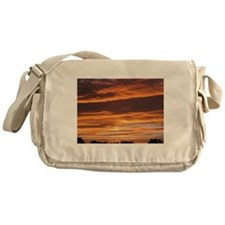 Flaming Sky Messenger Bag