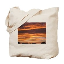 Flaming Sky Tote Bag