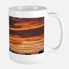 Flaming Sky Mugs