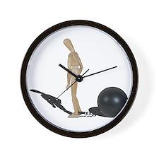 Cute Stress ball Wall Clock