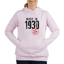 Made In 1930 All Original Parts Women's Hooded Swe