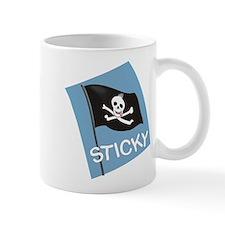 Sticky Pirate Flag Mugs