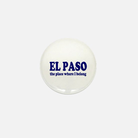 El Paso Mini Button