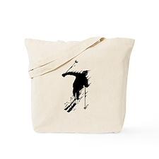 Downhill Skier Tote Bag