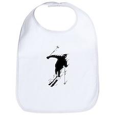 Downhill Skier Bib