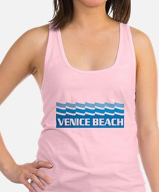 Venice Beach Waves Racerback Tank Top