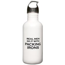 Real Men Do It With Packing Irons - Plumbers Water