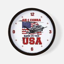 AH-1 Cobra Wall Clock