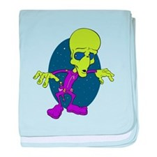 Alien Shootout baby blanket
