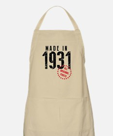 Made In 1931 All Original Parts Apron
