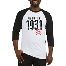 Made In 1931 All Original Parts Baseball Jersey