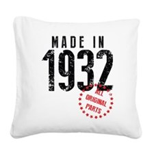 Made In 1932 All Original Parts Square Canvas Pill