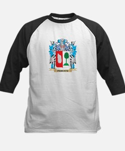 Ferentz Coat of Arms - Family Crest Baseball Jerse