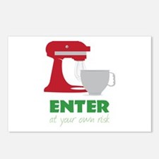 At Your Own Risk Postcards (Package of 8)