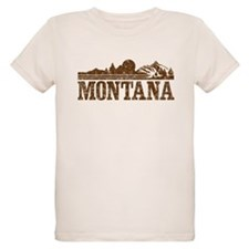 Vintage Montana Mountains T-Shirt