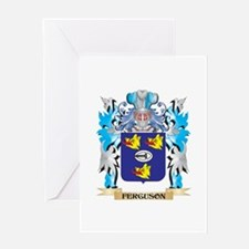 Ferguson Coat of Arms - Family Crest Greeting Card