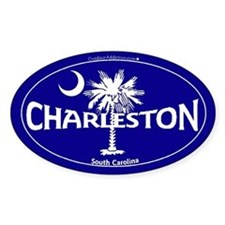 Charleston South Carolina Sticker and Magnet Stick