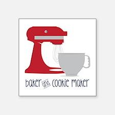 Baker Cookie Sticker