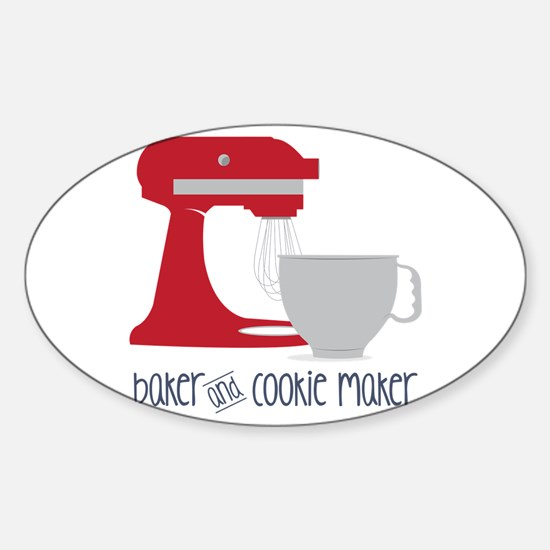 Baker Cookie Decal