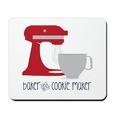 Baker Cookie Mousepad