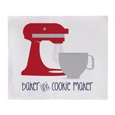Baker Cookie Throw Blanket