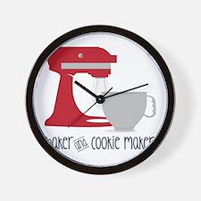 Baker Cookie Wall Clock