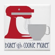 Baker Cookie Tile Coaster