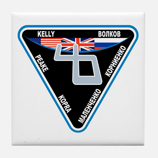 Expedition 46 Tile Coaster