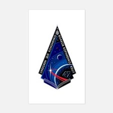 Expedition 45 Sticker (Rectangle)