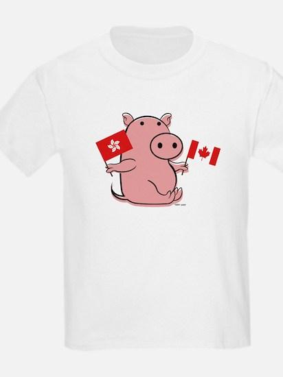 CANADA AND HONG KONG T-Shirt