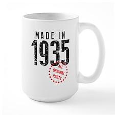 Made In 1935 All Original Parts Mugs