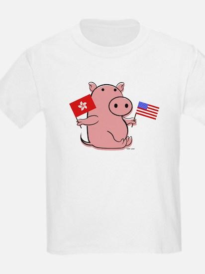 USA AND HONG KONG T-Shirt