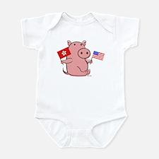 USA AND HONG KONG Infant Bodysuit