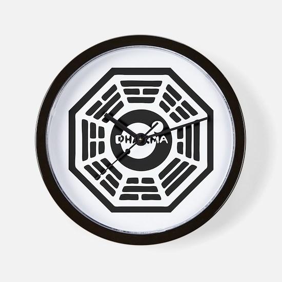 Dharma Hatch Wall Clock