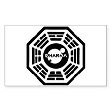 Dharma Hatch Rectangle Decal