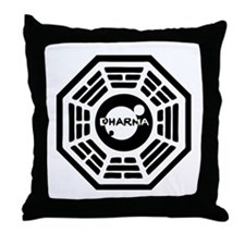 Dharma Hatch Throw Pillow