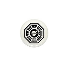 Dharma Hatch Mini Button (100 pack)