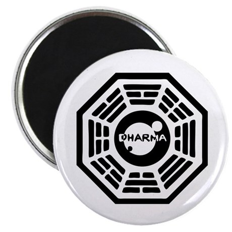 "Dharma Hatch 2.25"" Magnet (100 pack)"