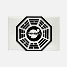 Dharma Hatch Rectangle Magnet