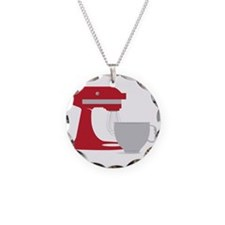 Red Stand Mixer Necklace