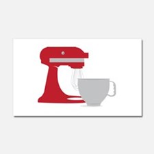 Red Stand Mixer Car Magnet 20 x 12