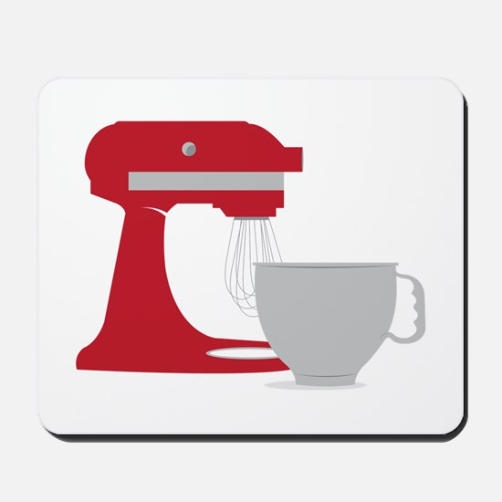 Red Stand Mixer Mousepad