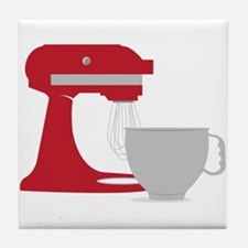 Red Stand Mixer Tile Coaster