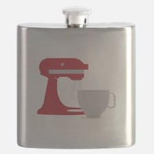 Red Stand Mixer Flask