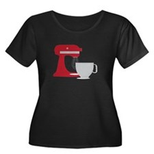Red Stand Mixer Plus Size T-Shirt