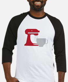 Red Stand Mixer Baseball Jersey