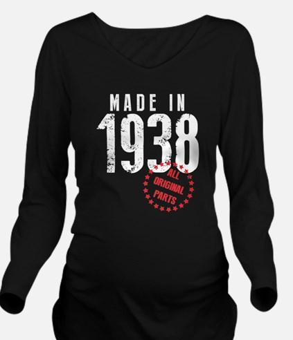 Made In 1938 All Original Parts Long Sleeve Matern