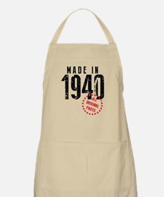 Made In 1940, All Original Parts Apron