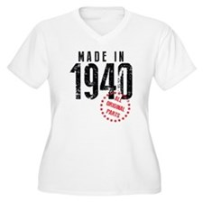 Made In 1940, All Original Parts Plus Size T-Shirt